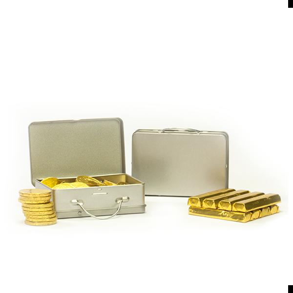Kistje met goud