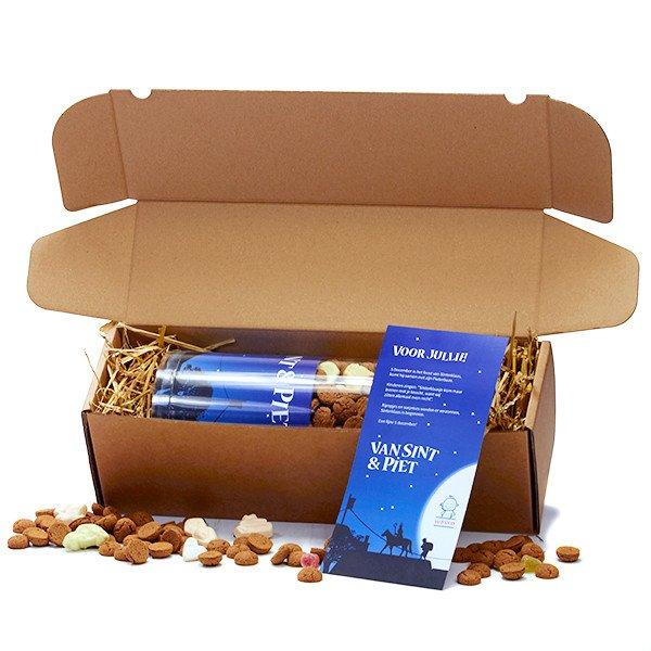 Koker met strooigoed - 1,5 kg - verzendverpakking