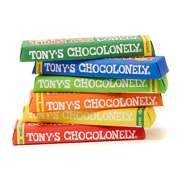 Stapel Tony's Chocolonely
