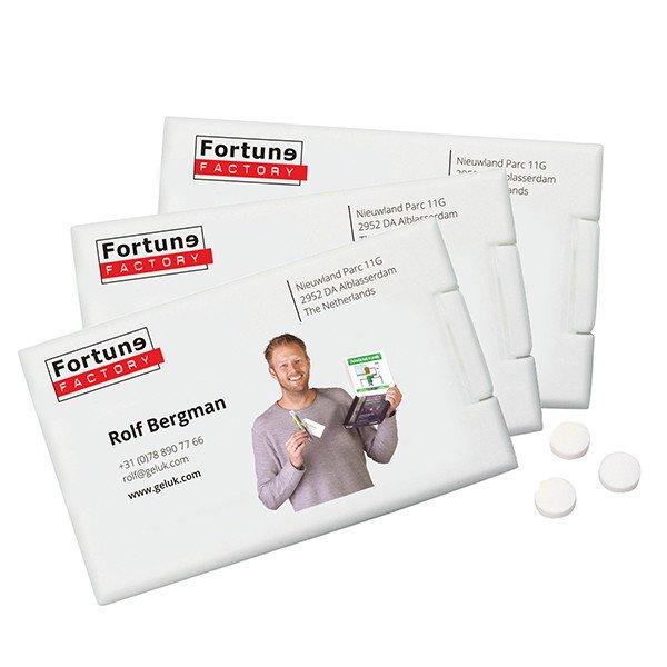 Mint card - visitekaartje met pepermunt