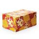 Sinterklaas verzendverpakking - rood/geel
