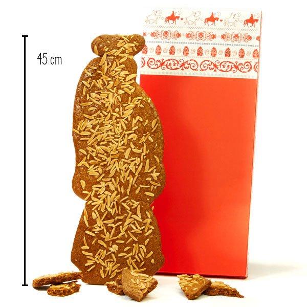 Roomboter speculaaspoppen - ca. 45 cm