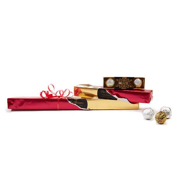 Geschenkverpakking ingepakt