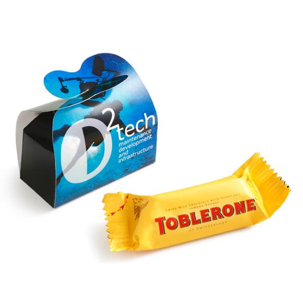 Toblerone in gepersonaliseerd doosje