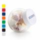 Uitdeel snoeppotje - deksel in diverse kleuren