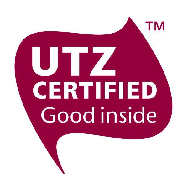 UTZ certified 2 chocoladeletters A t/m Z in sleeve