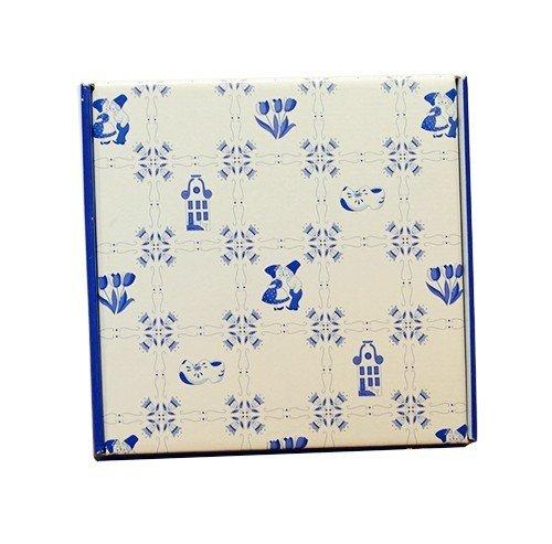 Voorzijde delfts blauw doosje