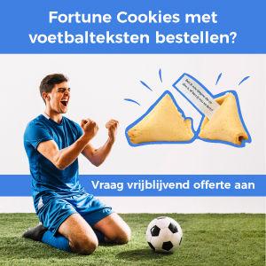 Voetbalteksten Fortune Cookie
