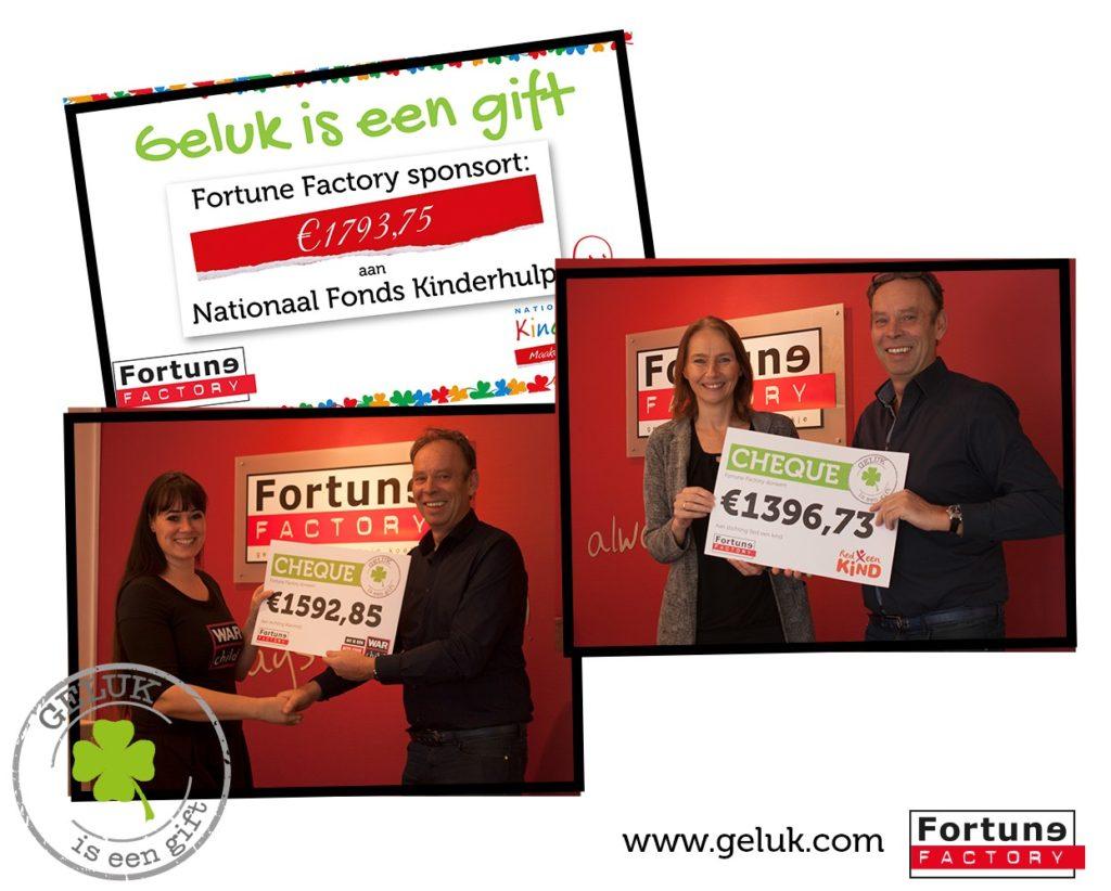 Cheques Geluk is een gift
