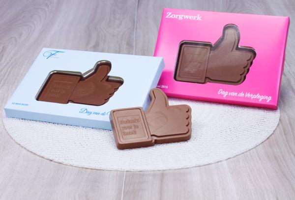 I Like You! Chocolade Like duim