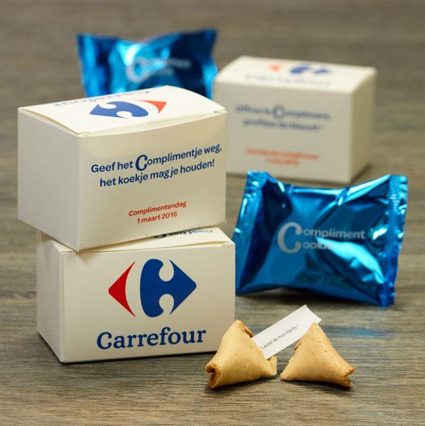 Met de complimenten van Carrefour