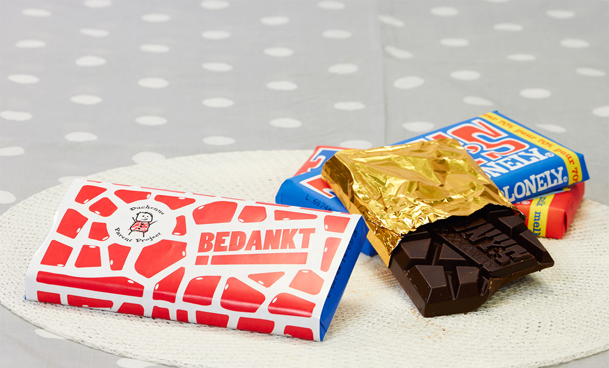 Tony's Chocolonely voor Duchenne Parent Project