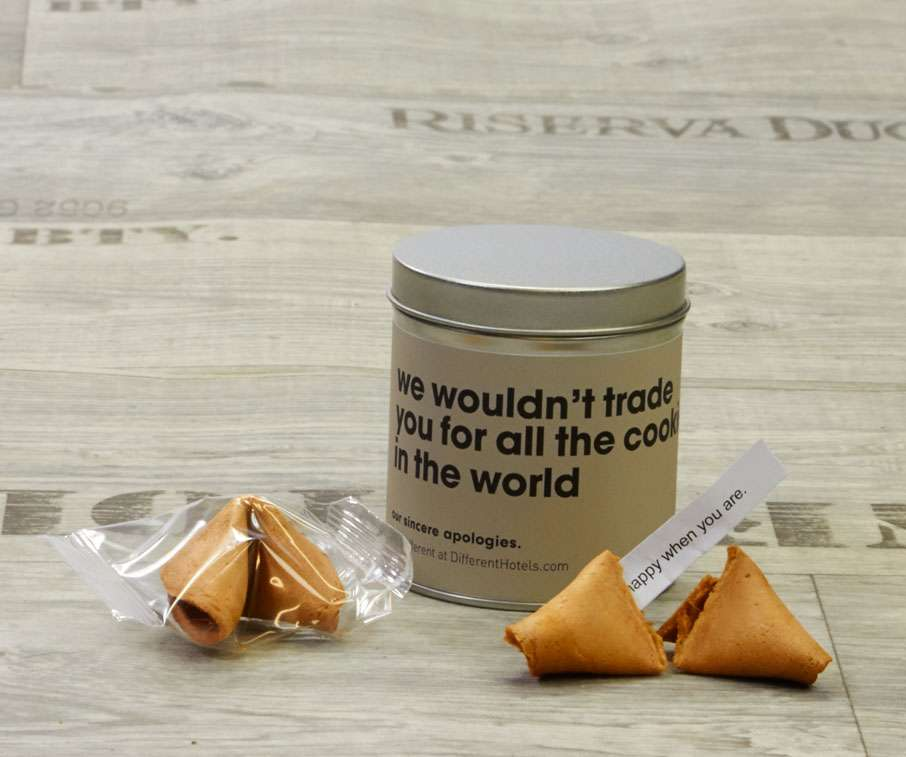 Blikje Fortune Cookies: We wouldn't trade you...