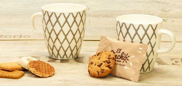 koffiekoekje met full colour folie - hospitality branche
