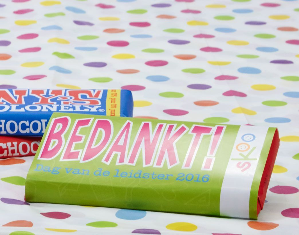 Tony's Chocolonely: Bedankt! Leidsters