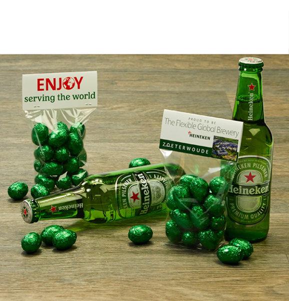 zakje paaseitjes voor Heineken