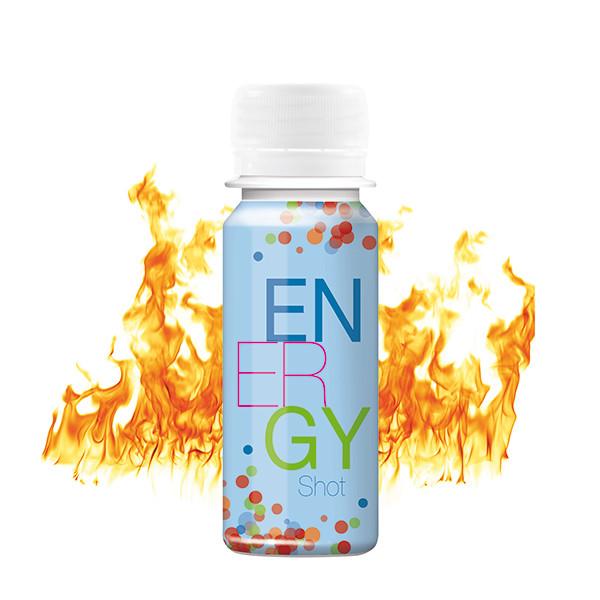 Energy shot met eigen label
