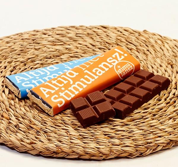 Tegen deze chocoladereep zegt niemand 'nee!'