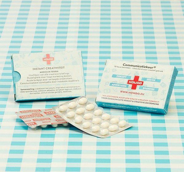 Medicijndoosjes voor HOWDO