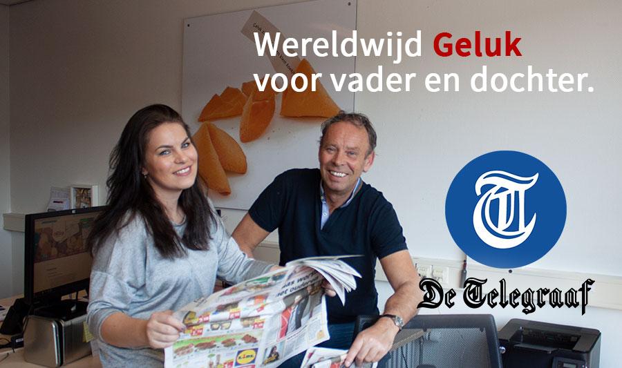 Persbericht in Telegraaf