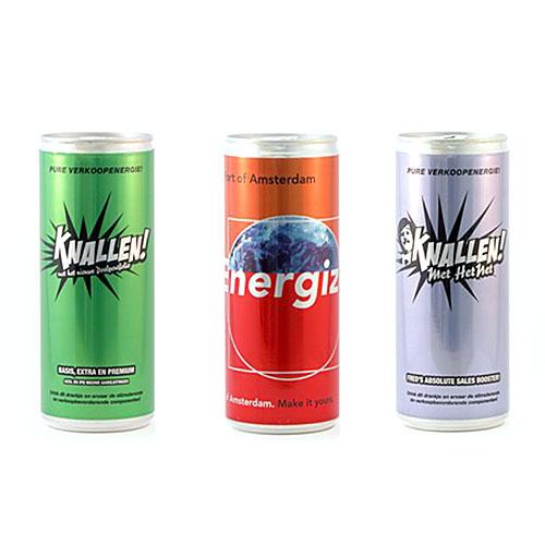 Energy drink dag van de bouw